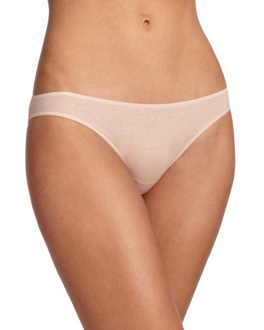 Hanro - Natural Ultralight Bikini - Lyst