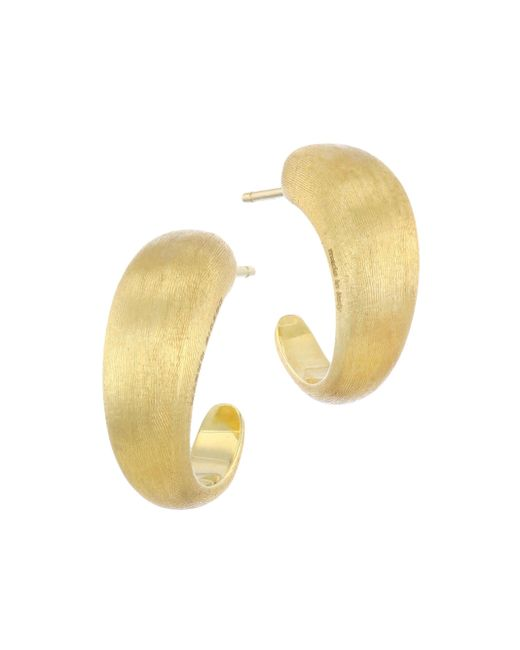Marco Bicego - Metallic 18k Yellow Gold Lucia Hoop Earrings - Lyst
