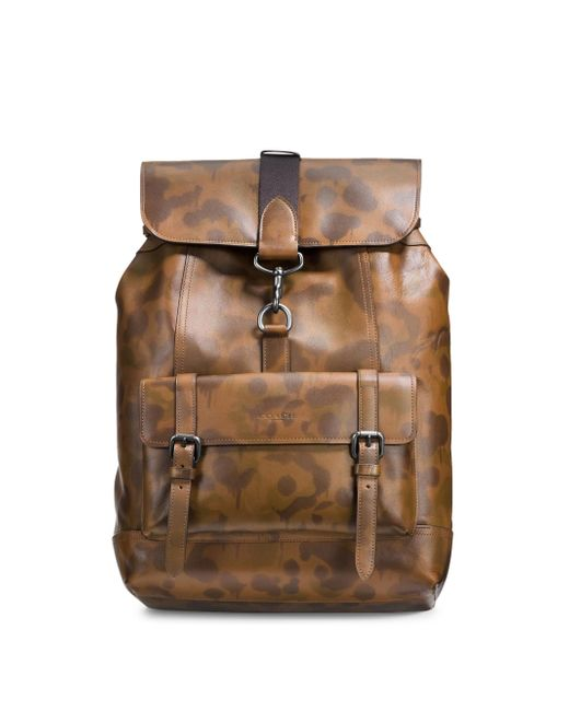 COACH | Multicolor Bleecker Leather Backpack | Lyst