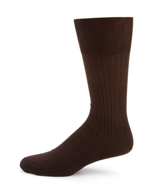 Falke - Brown Luxury No. 13 Sea Island Cotton Socks for Men - Lyst