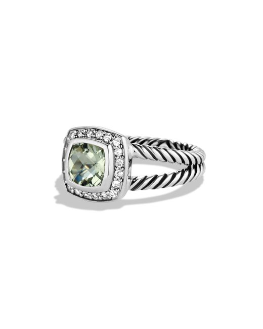 David Yurman | Multicolor Petite Albion Ring With Diamonds | Lyst