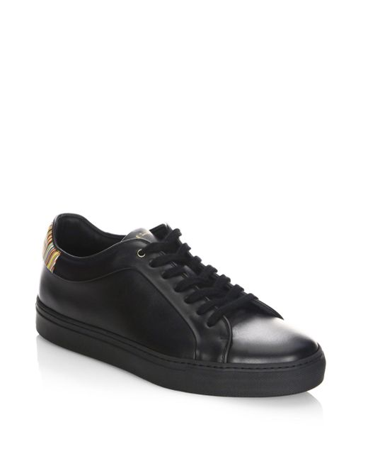 Paul Smith | Black Basso Lace-up Sneakers for Men | Lyst