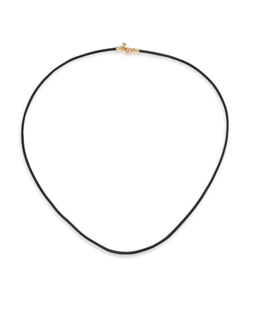 Temple St. Clair - Black Leather Cord Necklace - Lyst