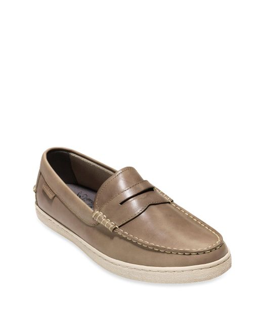 Cole Haan | Brown Pinch Weekender Leather Penny Loafers for Men | Lyst