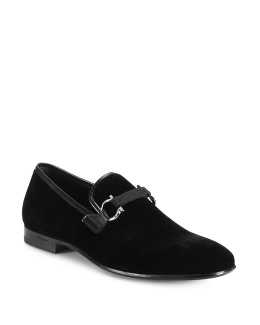 Ferragamo | Black 'party' Bit Loafer for Men | Lyst