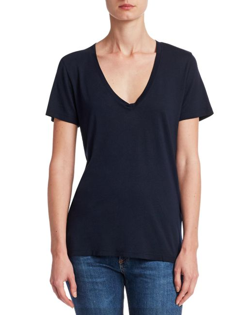 Cotton Citizen - Blue The Classic V-neck Tee - Lyst
