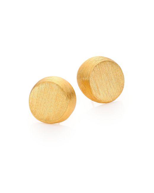 Stephanie Kantis | Metallic Half Moon Stud Earrings | Lyst