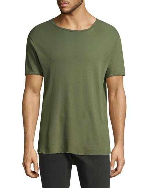 J Brand | Green Short Sleeve Tee for Men | Lyst