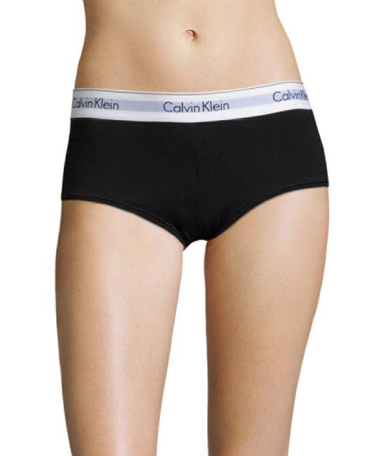 Calvin Klein | White Modern Cotton Boyshort | Lyst