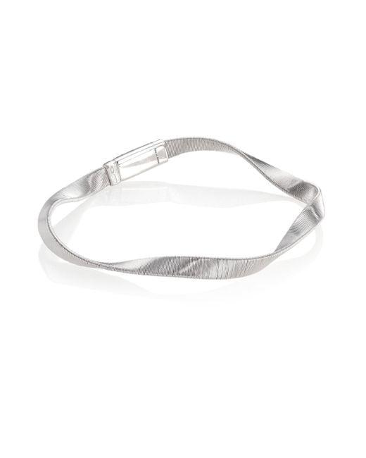 Marco Bicego | Metallic Marrakech Supreme 18k White Gold Bracelet | Lyst