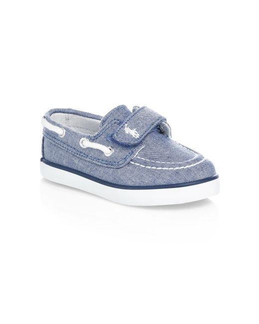 Ralph Lauren - Blue Little Boy's & Boy's Sander Ez Boat Shoes for Men - Lyst