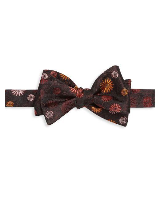 Saks Fifth Avenue | Red Flower Silk Bow Tie for Men | Lyst