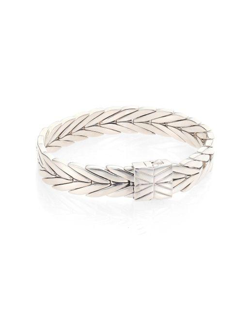 John Hardy - Metallic Modern Chain Sterling Silver Bracelet - Lyst