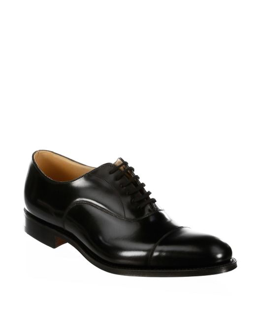 Church's - Black Dubai Leather Oxfords for Men - Lyst