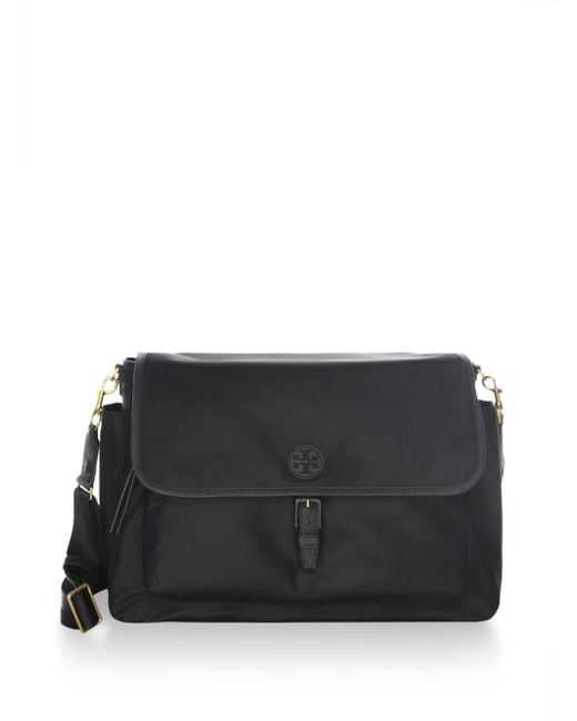 Tory Burch | Black Scout Messenger Baby Bag | Lyst