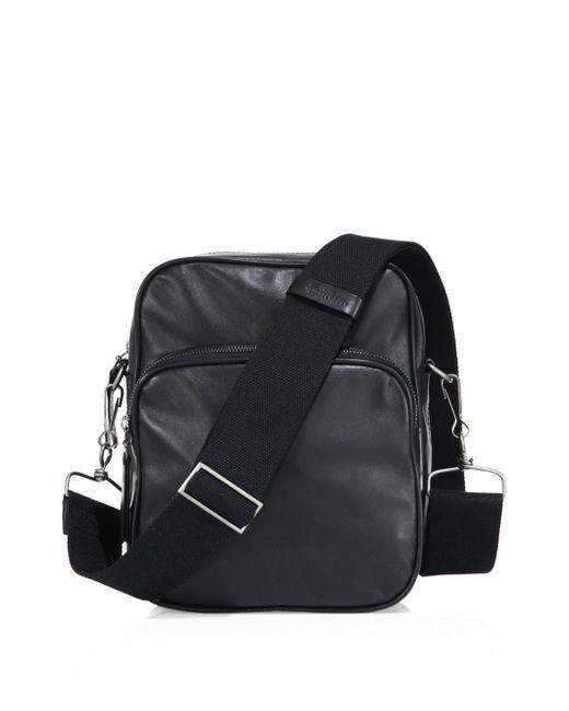 Maison Margiela | Black Leather Bag for Men | Lyst