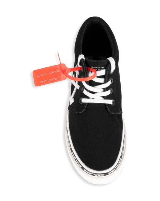 170ba8f9371c Lyst - Off-White c o Virgil Abloh Skate Sneakers In Black in Black ...