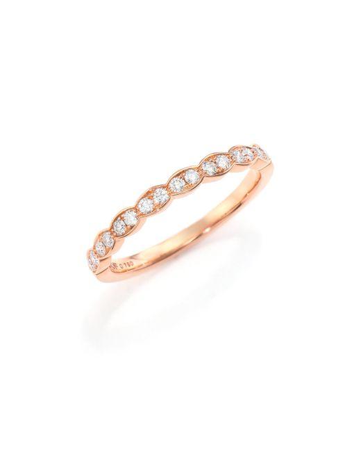 Hearts On Fire | Pink Lorelei Diamond & 18k Rose Gold Ring | Lyst