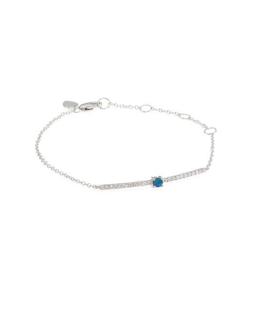 Meira T - Multicolor Pavé Diamond, Opal & 14k White Gold Bracelet - Lyst