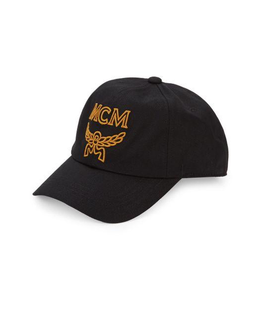 d968de91496 Lyst - MCM Men s Collection Cap - Black in Black for Men - Save 33%