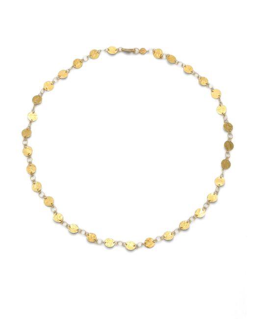 Gurhan - Metallic Lush 24k Yellow Gold Flake Necklace - Lyst