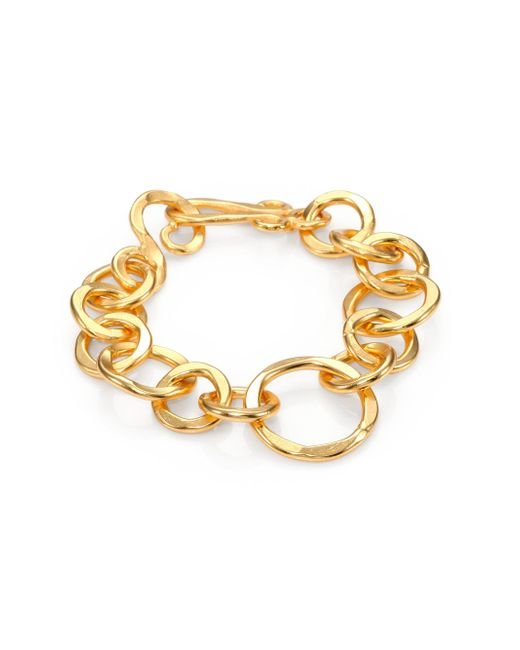 Stephanie Kantis | Metallic Coronation Large Chain Link Bracelet | Lyst