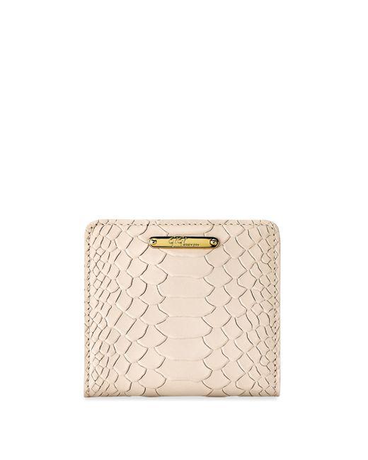 Gigi New York | Multicolor Mini Python-embossed Leather Bi-fold Wallet | Lyst