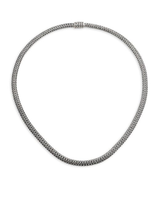 John Hardy - Metallic Classic Chain Sterling Silver Extra-small Necklace/18 - Lyst