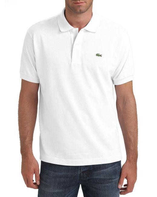 Lacoste | White 'l1212' Pique Polo for Men | Lyst
