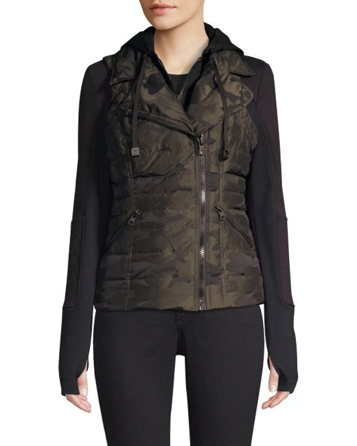 BLANC NOIR - Black Three-in-one Packable Camo Jacket - Lyst