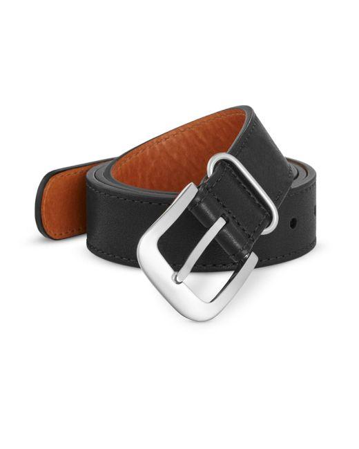Shinola | Black Tumbled Leather Belt for Men | Lyst
