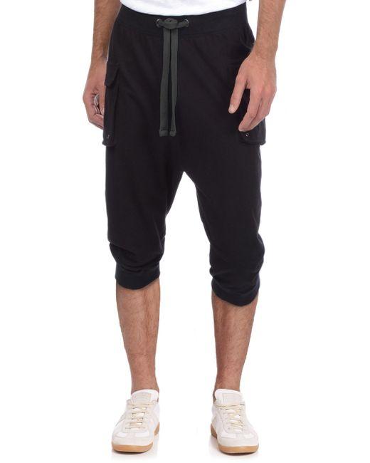 2xist - Black Cropped Sweatpants for Men - Lyst