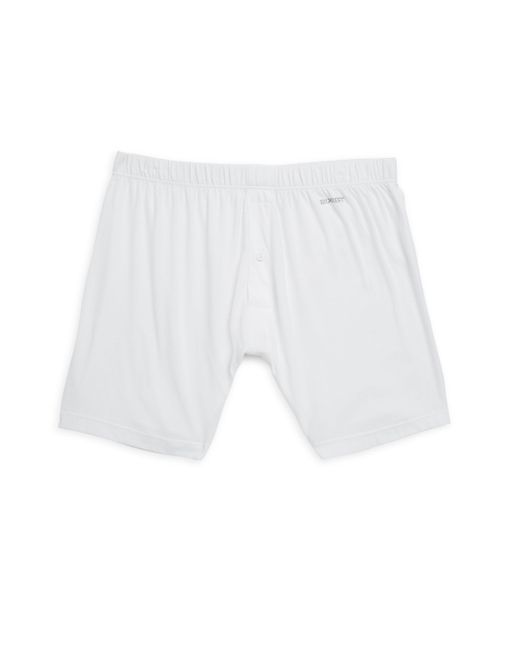 2xist | White Pima Cotton Boxers for Men | Lyst