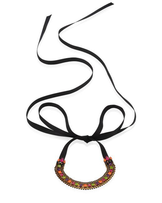 Erickson Beamon - Multicolor Technicolor Crystal Choker - Lyst