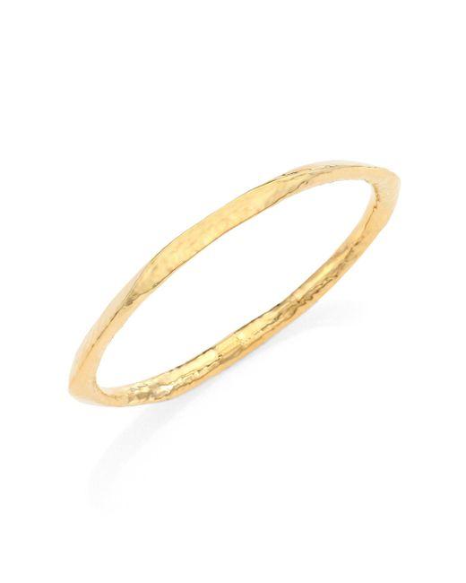 Ippolita | Metallic Glamazon 18k Yellow Gold Wide Bangle Bracelet | Lyst