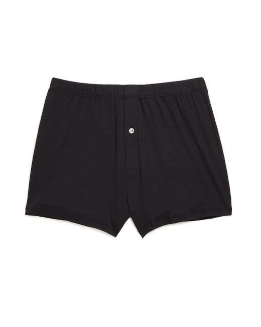 Hanro - Black Sea Island Cotton Sea Island Cotton Boxers for Men - Lyst