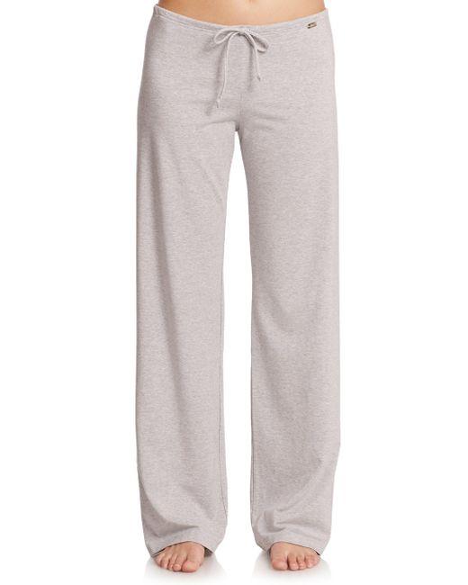 La Perla - Gray Women's New Project Drawstring Pants - Black - Lyst