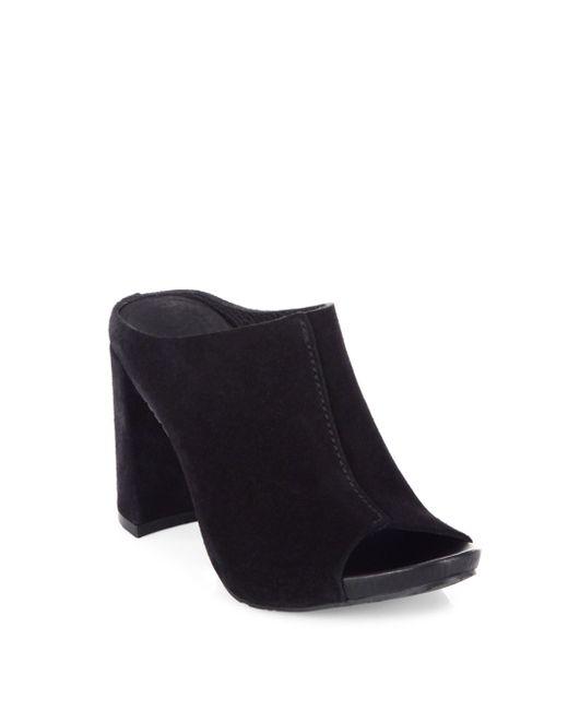 Pedro Garcia - Black Yavel Castoro Leather Sandals - Lyst