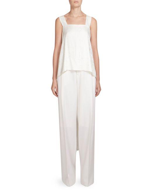Givenchy - White Bandana Print Hi-lo Top - Lyst