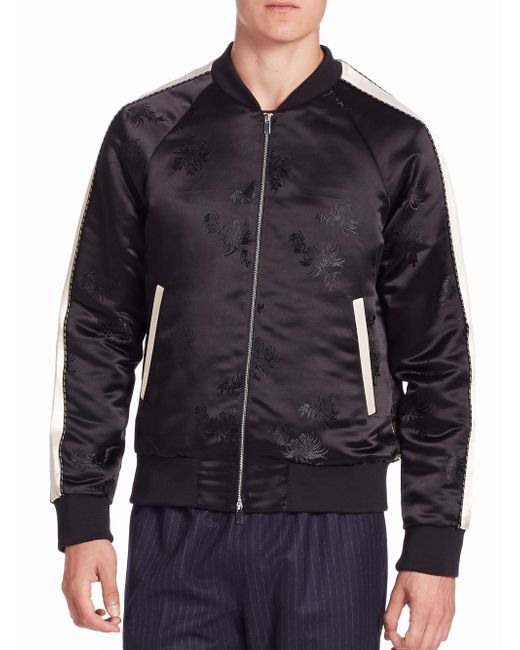 Ovadia And Sons | Black Souvenir Bomber Jacket for Men | Lyst