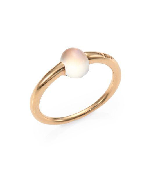 Pomellato - Metallic M'ama Non M'ama Moonstone & 18k Rose Gold Cabochon Ring - Lyst