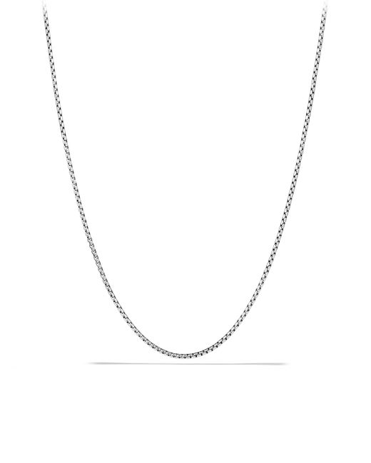 David Yurman - Metallic Small Box Chain Necklace for Men - Lyst