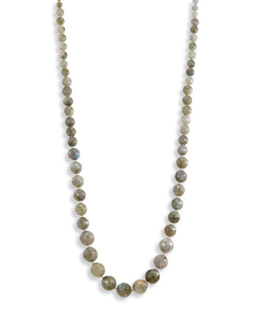 Chan Luu | Metallic Labradorite Beaded Necklace | Lyst