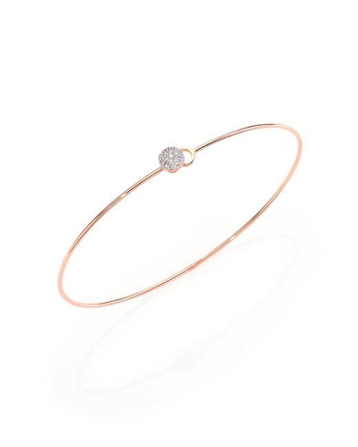 Phillips House | Metallic Affair Infinity Wire Love Always Diamond & 14k Rose Gold Bracelet | Lyst