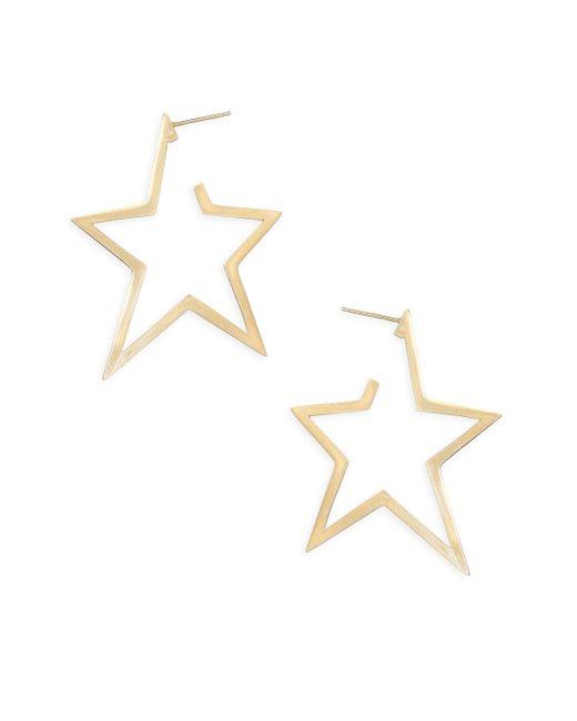 Jennifer Zeuner - Metallic Sade Large Star Earrings - Lyst