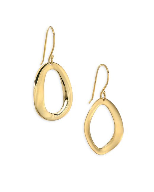 Ippolita | Metallic Cherish Small 18k Yellow Gold Drop Earrings | Lyst