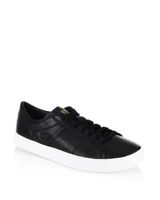 Onitsuka Tiger | Black Lawnship Leather-sneakers for Men | Lyst