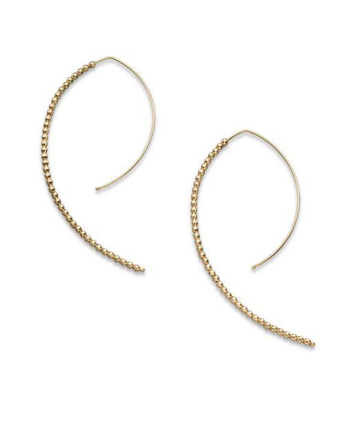 Mizuki | 14k Yellow Gold Marquis-shaped Earrings/2 | Lyst
