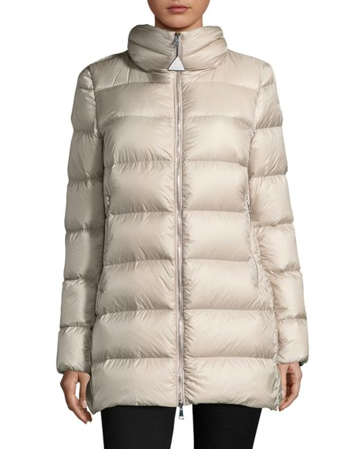 Moncler - Natural Torcyn Puffer Jacket - Lyst