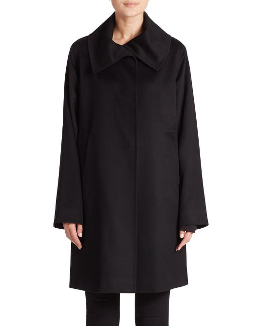 Jane Post - Black Cashmere Jane Coat - Lyst
